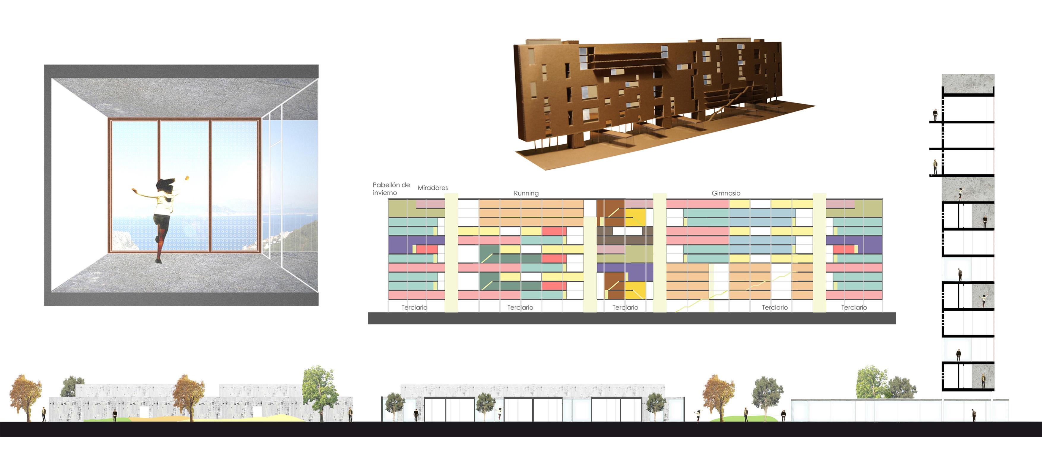 Arquitectura portfolio for Vivienda arquitectura
